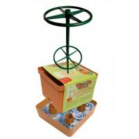 Pot carré pour plantes grimpantes